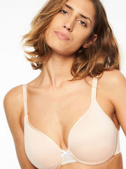 Chantelle C Ideal Full Coverage Plunge T-Shirt Bra - Blush