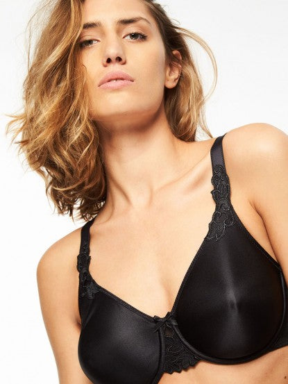 Chantelle Hedona Molded Underwire Bra - Black