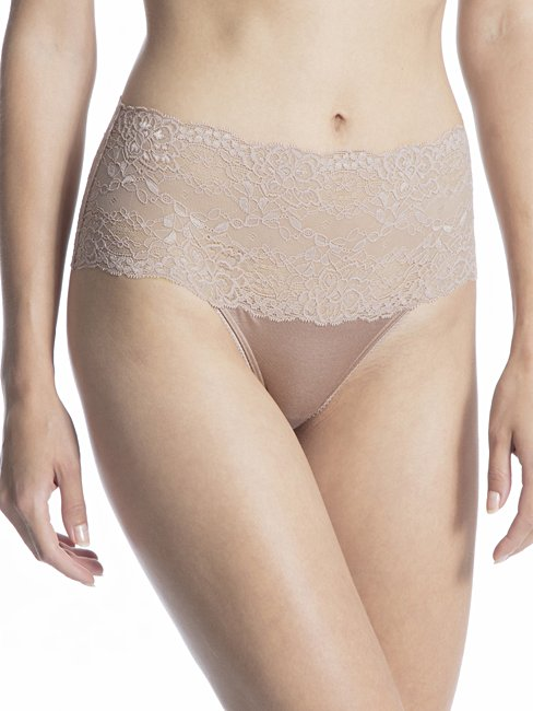 Calida Sensual Secrets Lace High Waist Brief Panty