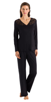 Hanro Moments Long Sleeved Pajama