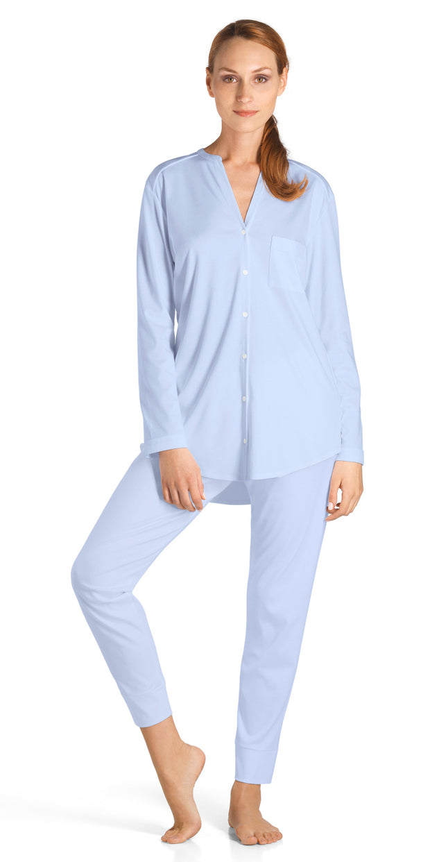 Hanro Pure Essence Long Sleeve PJ Set