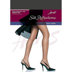 Hanes Silk Reflections Non-Control Top Sheer Toe Pantyhose - Town Shop  - 5