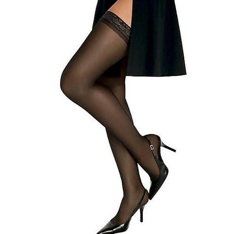 Hanes Silk Reflections Silky Sheer Thigh Highs