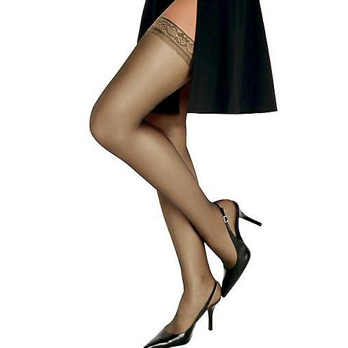 Hanes Hosiery Silk Reflections Silky Sheer Thigh Highs