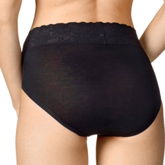 Calida Lycra Lace Brief - Town Shop  - 4