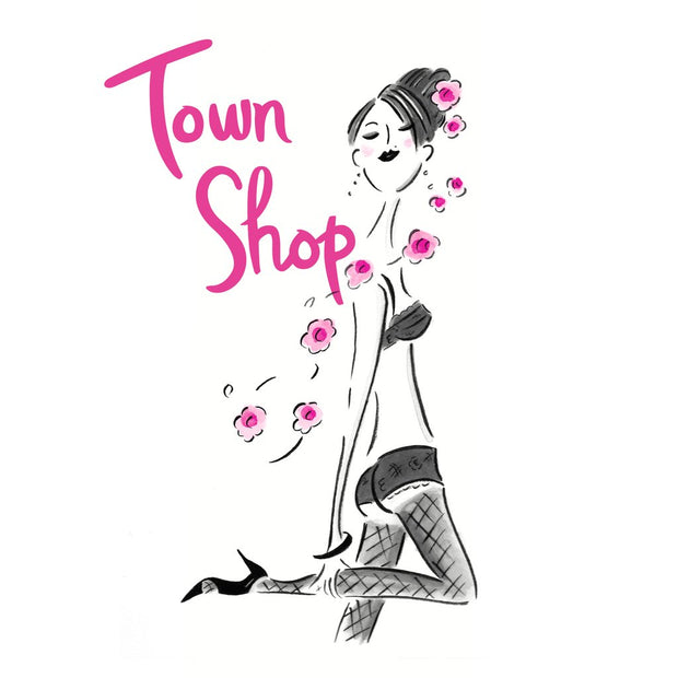 Town Shop Single Row Bra Extender