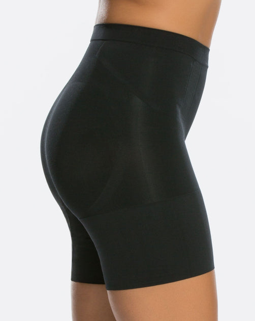 SPANX SS6615 ONCORE MID-THIGH SHAPING SHORT Large Details about  /NWOT