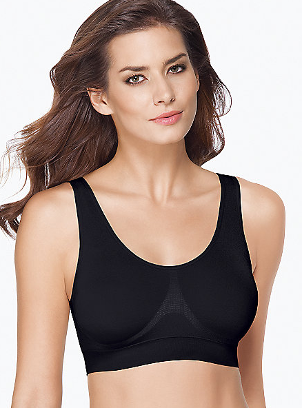 Wacoal B-Smooth Wire-Free Bralette - Black