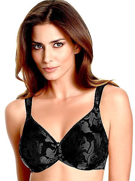 Wacoal Awareness Seamless Full Figure Underwire Bra - Black