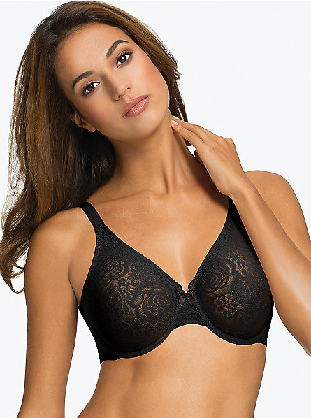 Wacoal Halo Lace Underwire Bra - Black