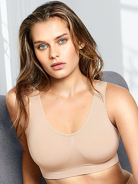 Wacoal B-Smooth Wire-Free Bralette - Nude