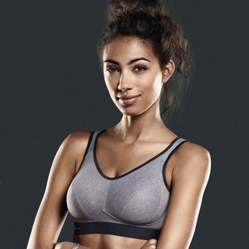 Anita Active Extreme Control Sports Bra - Heather Grey