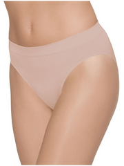 Wacoal B-Smooth Seamless Hi-Cut Brief - Rose Dust
