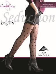 Cache Coeur Seduction Confetti Maternity Tights