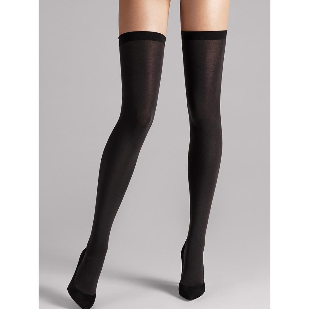 Wolford Fatal 80 Seamless Stay-Ups - Town Shop  - 1