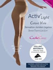 Cache Coeur Activ Light Maternity Tights