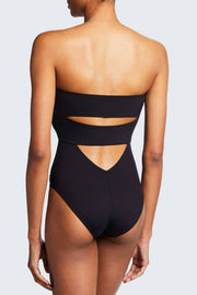 Shan Morioka Strapless Swimsuit