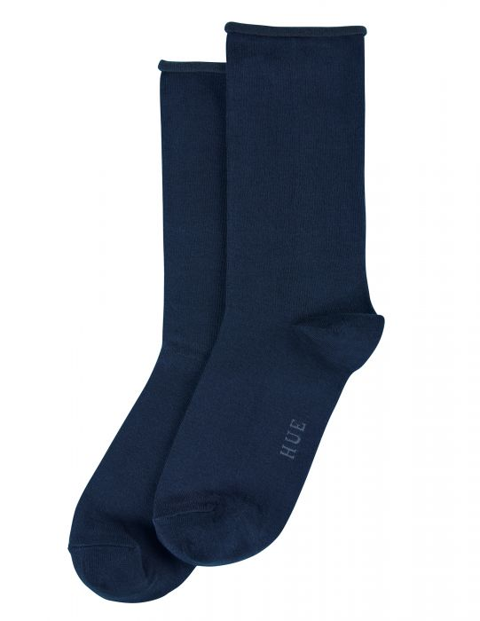 Hue Jeans Socks - Navy