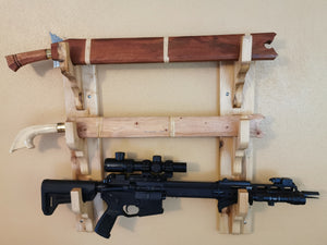 Weapon Wall Rack