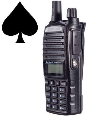 Baofeng UV-82 - Dual PTT Powerful Two way HAM Radio, VHF + UHF (x1) - joa-gear
