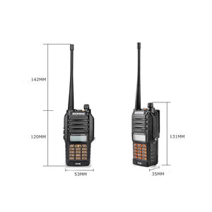 WATERPROOF UV-9R 8W Radio Dual Band Transceiver NEW 2020