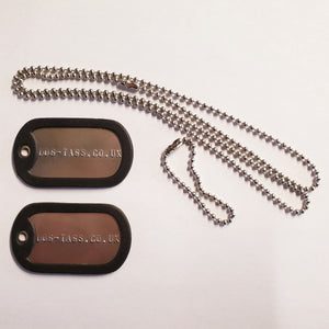 Full Dog Tag Set - Printed