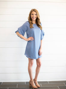 Kacie Ruffle Dress