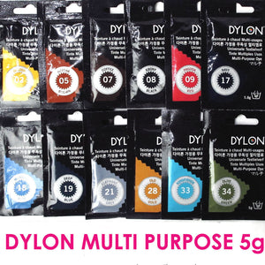 "DYLON ""MULTI PURPOSE HOT WATER DYE"""