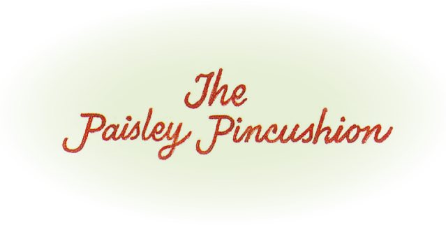 THE PAISLEY PINCUSHION