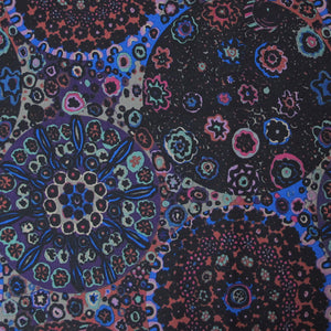 "KAFFE FASSETT ""MILLEFIORE"" GP92 DARK  by the 1/2 yard"