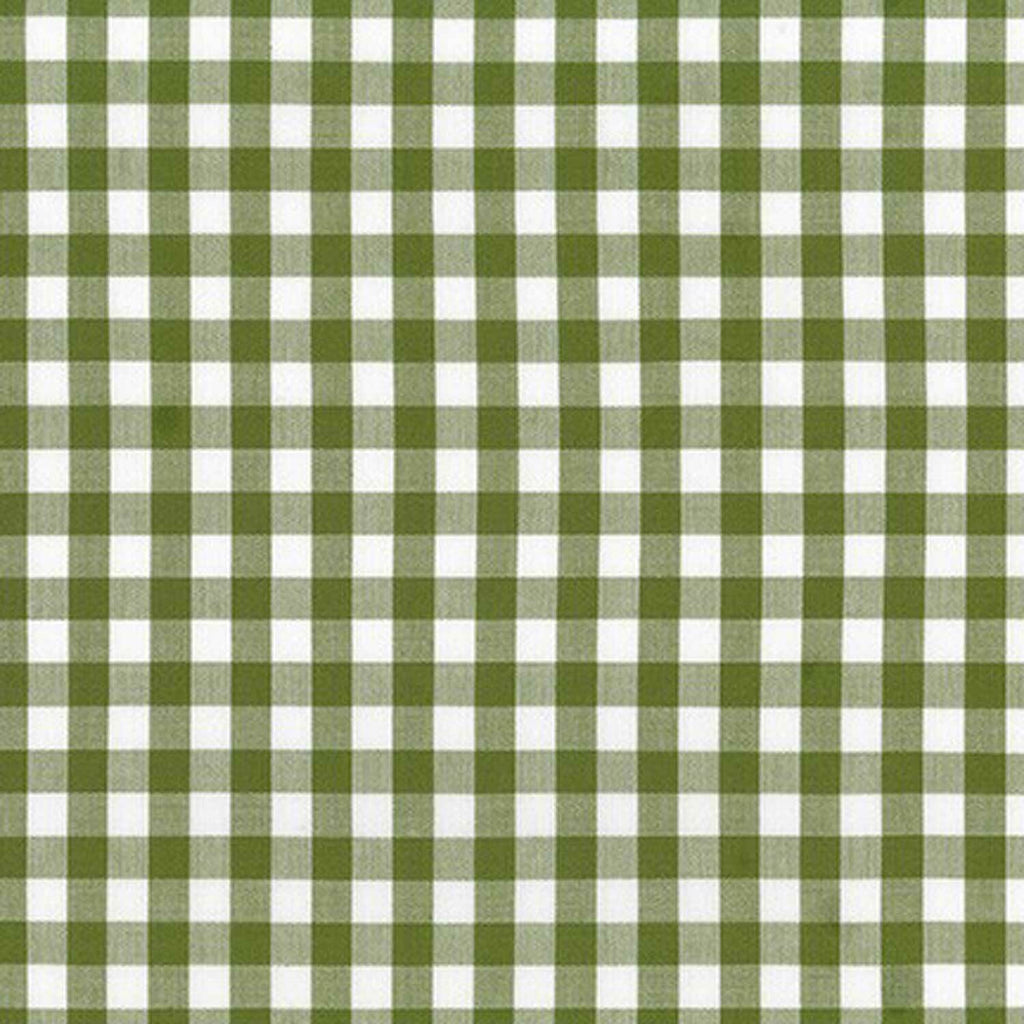 "ROBERT KAUFMAN ""KITCHEN WINDOW WOVEN"" GINGHAM AZH-17722-218 AVOCADO by the 1/2 yard"