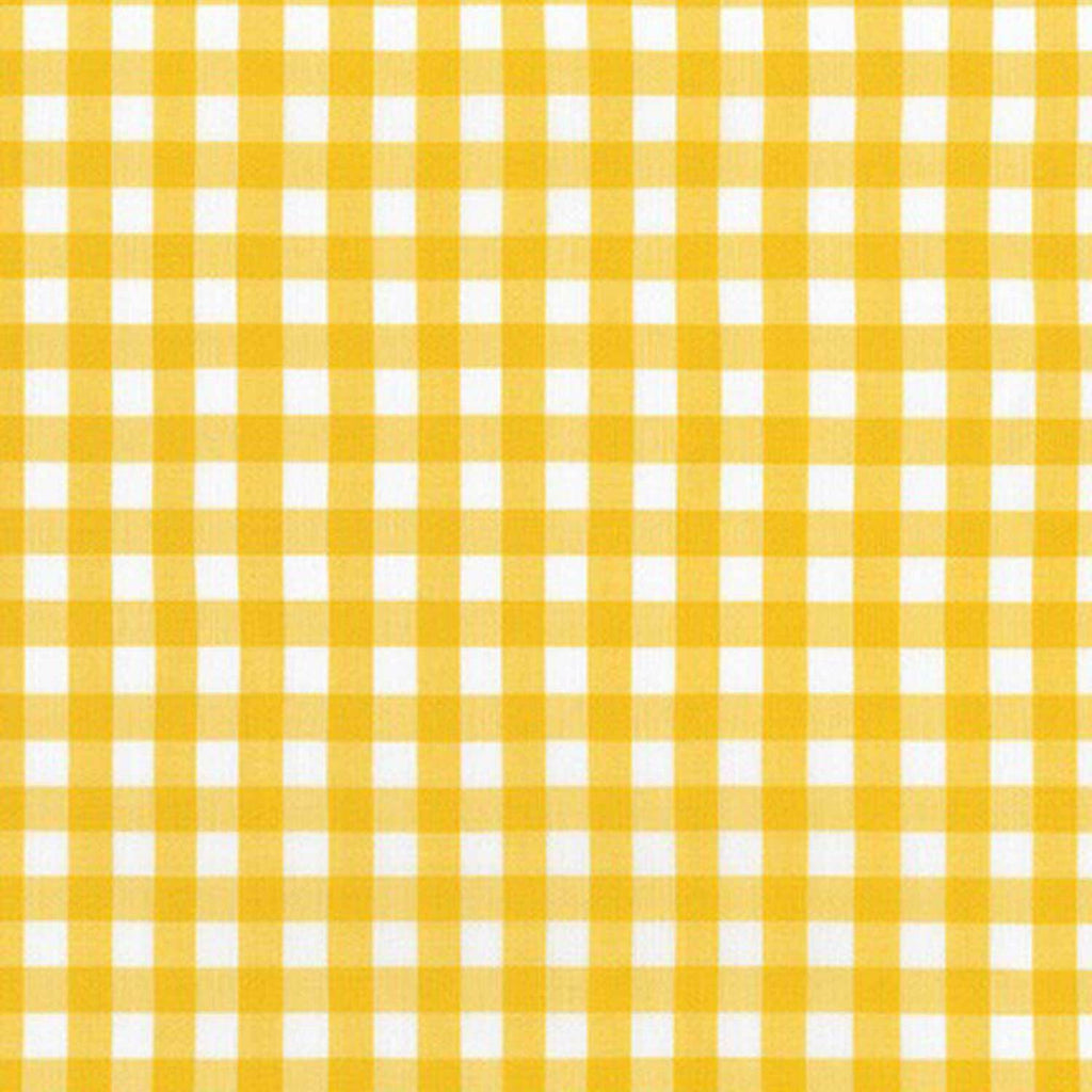 "ROBERT KAUFMAN ""KITCHEN WINDOW WOVEN"" GINGHAM AZH-17722-368 GRELLOW by the 1/2 yard"