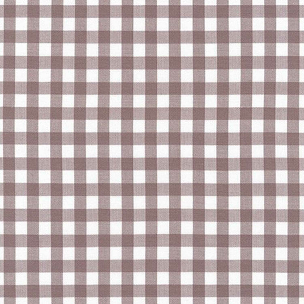 "ROBERT KAUFMAN ""KITCHEN WINDOW WOVEN"" GINGHAM AZH-17722-119 MAUVE by the 1/2 yard"