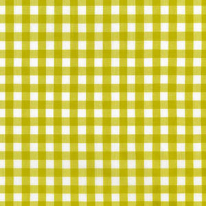 "ROBERT KAUFMAN ""KITCHEN WINDOW WOVEN"" GINGHAM AZH-17722-341 PICKLE by the 1/2 yard"