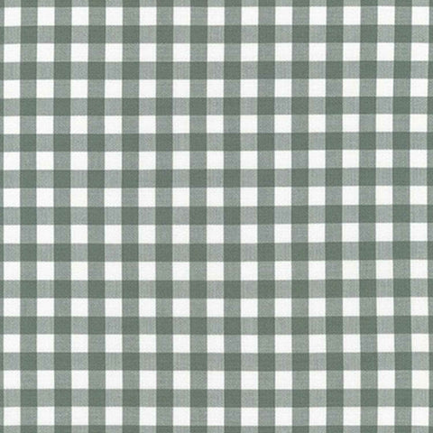 "ROBERT KAUFMAN ""KITCHEN WINDOW WOVEN"" GINGHAM AZH-17722-335 SHALE by the 1/2 yard"
