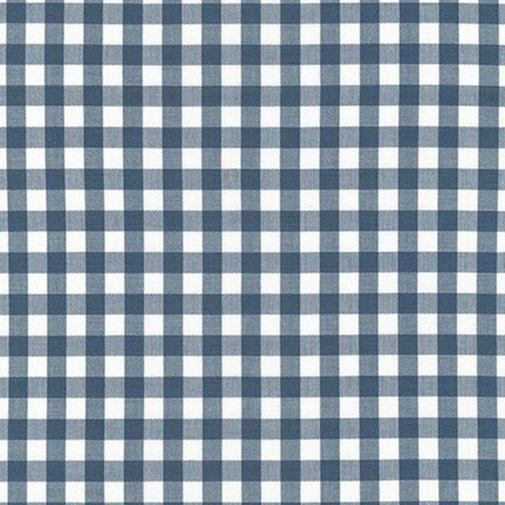 "ROBERT KAUFMAN ""KITCHEN WINDOW WOVEN"" GINGHAM AZH-17722-66 SLATE by the 1/2 yard"