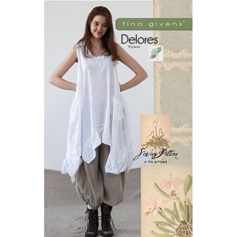 "TINA GIVENS ""DELORES TUNIC"" Sewing Pattern"
