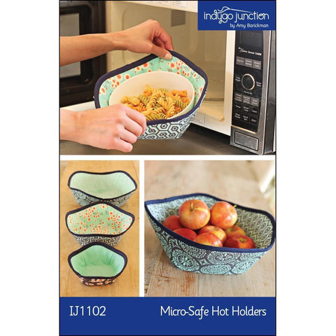 "INDYGO JUNCTION ""MICRO-SAFE HOT HOLDER"" Sewing Pattern"
