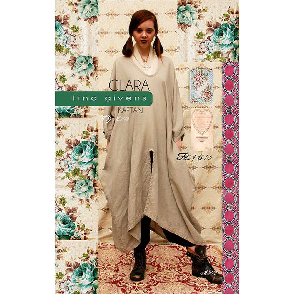 "TINA GIVENS ""CLARA KAFTAN"" Sewing Pattern"