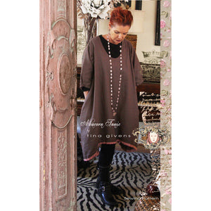 "TINA GIVENS ""ABACORN TUNIC"" Sewing Pattern"