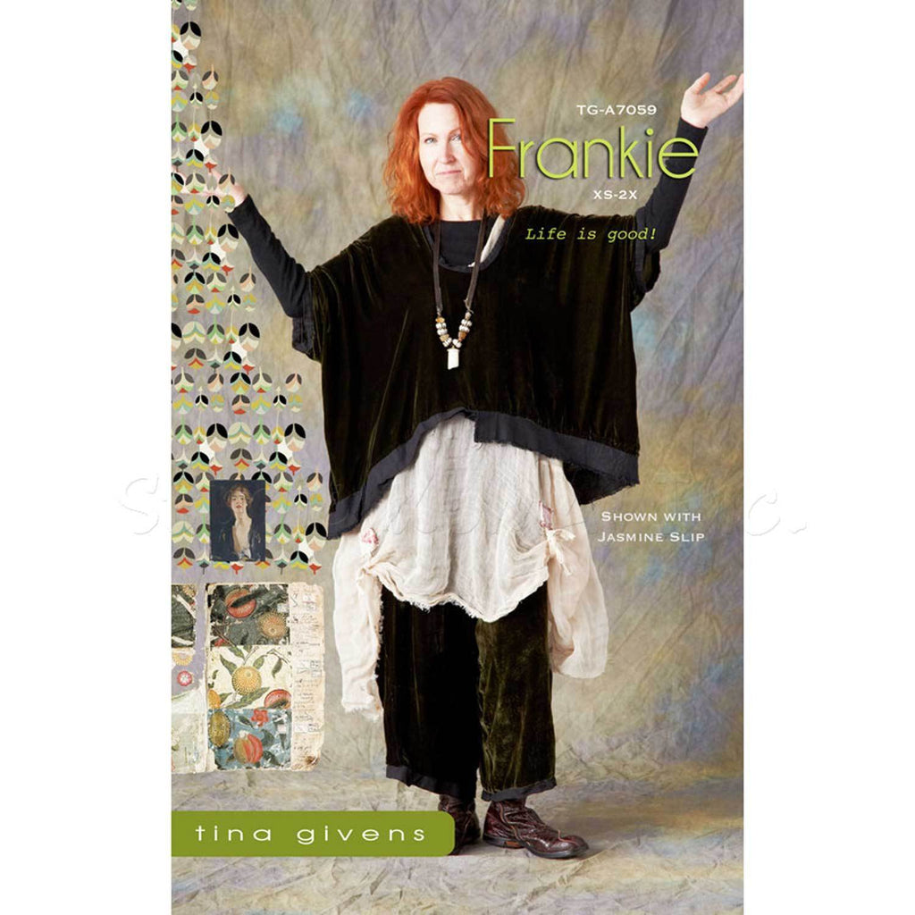 "TINA GIVENS ""FRANKIE TG-A7059"" SEWING PATTERN"