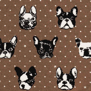 "KOKKA ""FRENCH BULLDOG"" Brown"