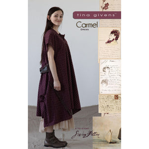 "TINA GIVENS ""CARMEL DRESS"" Sewing Pattern"