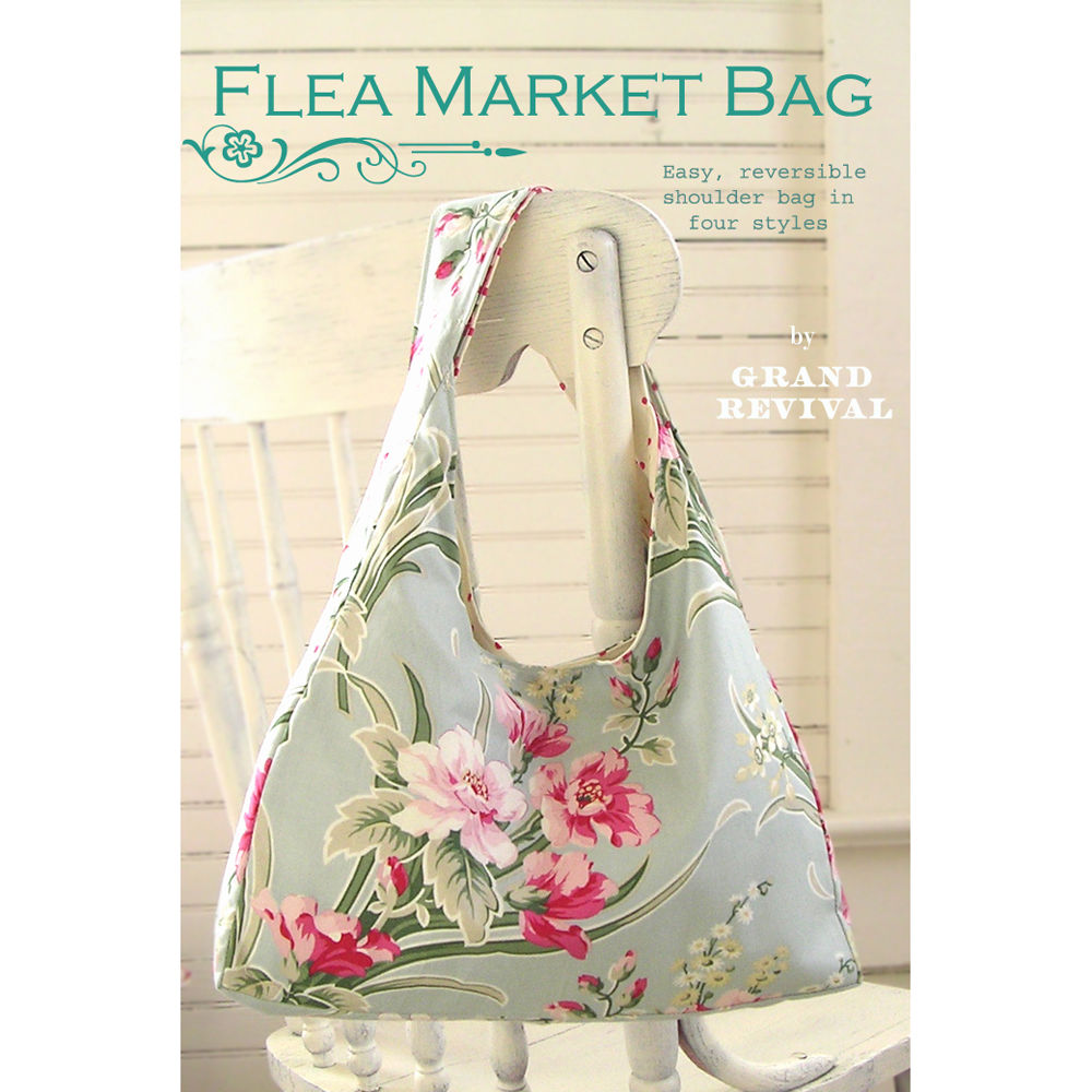 "GRAND REVIVAL ""FLEA MARKET BAG"" Sewing Pattern"