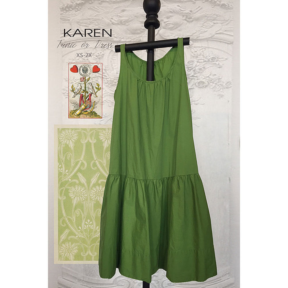 "TINA GIVENS ""KAREN DRESS"" Sewing Pattern"