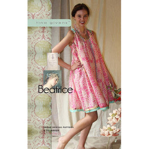 "TINA GIVENS ""BEATRICE DRESS"" Sewing Pattern …"