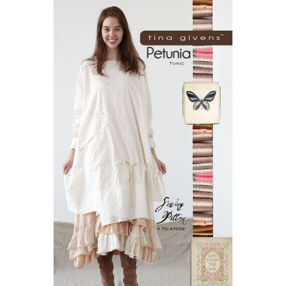 "TINA GIVENS ""PETUNIA TUNIC"" Sewing Pattern"