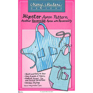 "MARY MULARI DESIGNS ""HIPSTER APRON"" Sewing Pattern"