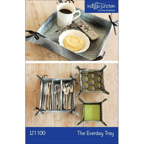 "INDYGO JUNCTION ""THE EVERDAY TRAY"" Sewing Pattern"