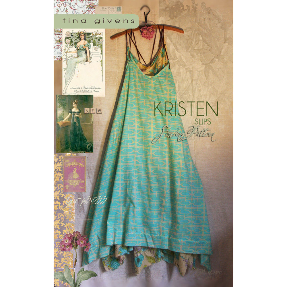"TINA GIVENS ""KRISTEN SLIPS"" Sewing Pattern"